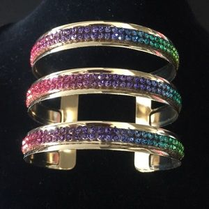 Multi-Color Cuff Bracelet